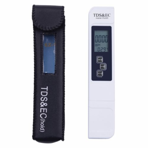 Jual 10PCS/LOT TDS Tester, EC meter, conductivity meter, water measurement tool,Function 3 in 1, 0-5000ppm,High Quality