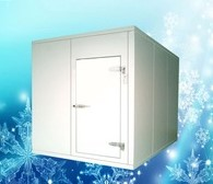 Jual automatic Ice storage freezer room/Cold refrigerator freezer room for vegetable,fish, meat