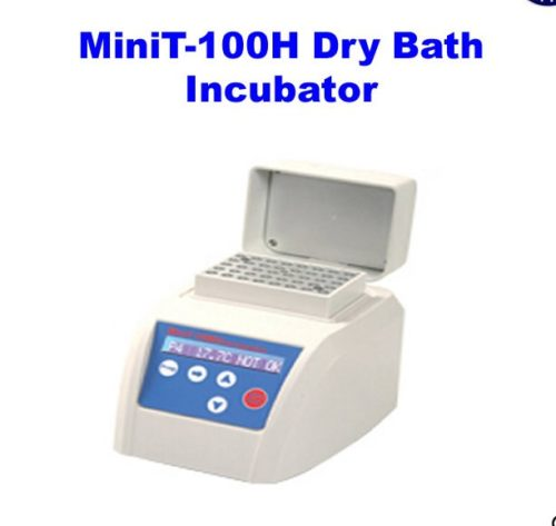 Jual MiniT-100H Dry Bath Incubator Hold With Lid +5~100 Degree 45W Handhold Size
